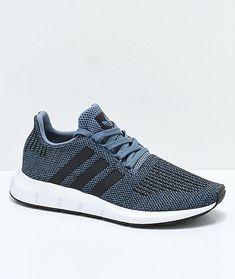 71bbc7bafa49 Men s Adidas Swift Run Raw Speckled Steel  amp  White Shoes Sz