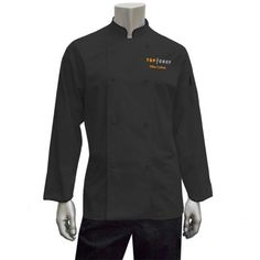 Top Chef Customizable Embroidered Logo Jacket – Black | Halloween | Shop By Bravo