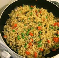 First Time Mom and Losing It: Vegetable Fried Quinoa - Dr. Oz 2 Week Rapid Weight Loss Plan Friendly