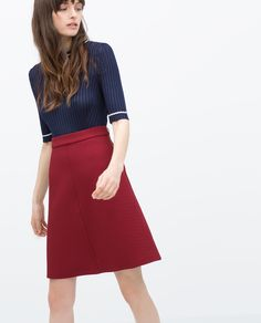 A-LINE WOVEN SKIRT-View all-Skirts-WOMAN-SALE | ZARA United States