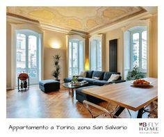 Proponiamo a Torino, zona San Salvario, in affascinante palazzo d'epoca, appartamento di 135mq completamente ristrutturato con materiali di altissima qualità. In vendita a €398.000.