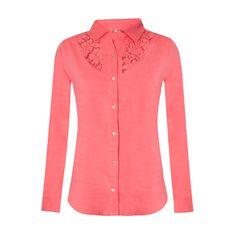 Camisa de punto con bordados para mujer primavera verano 2014. www.oldridel.com