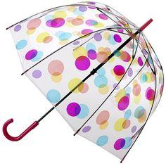 Fulton Birdcage Spots - see through PVC dome umbrella!!!!
