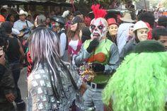 Carnaval Zacate Colorado Tihuatlan.