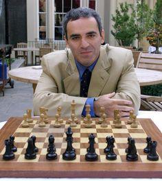 Garry Kasparov (b. 1963). Former world chess champion. writer, and political activist.