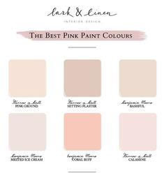 Best Pink Paint Colours