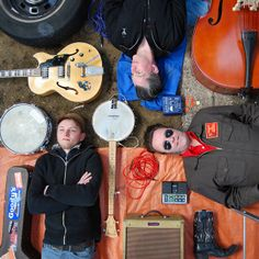 member and object grid shot from above- band photo by anja mulder