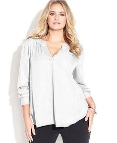 Plus Size Blouse - Macy's
