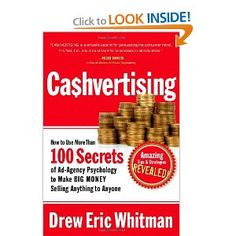 CA$HVERTISING: How to Use More than 100 Secrets of Ad-Agency Psychology to Make Big Money Selling Anything to Anyone $9.98