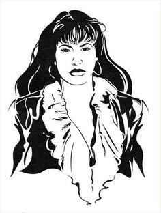 Selena fan art.