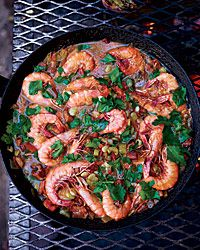 Shrimp-and-Sausage Stew Recipe on Food & Wine
