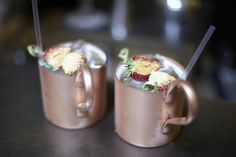 Rose Gold Mugs at the Connaught Hotel, London Connaught Hotel, Rose Gold, Interiors, London, Mugs, Ethnic Recipes, Desserts, Food, Tailgate Desserts