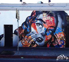 I Was a Botox Junkie (Los Angeles), centro | Tristan Eaton
