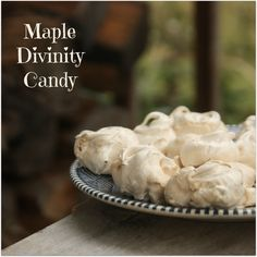 Maple Divinity Candy