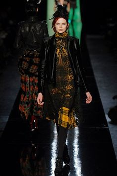 Jean Paul Gaultier Fall 2007 Ready-to-Wear Fashion Show - Bette Franke