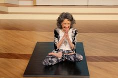 """The first thing you notice about Tao Porchon-Lynch, AKA """"the world's oldest yoga teacher,"""" is her smile."""
