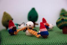 gnomes vs snowmen, anna hrachovec of mochimochi land