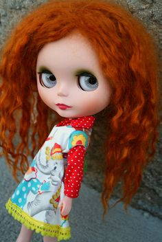 Blythe~off to the circus