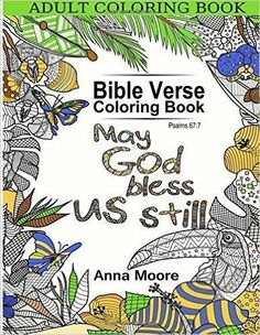 Adult Coloring Book Bible Verse Inspirational Blessings Quotes For Christians And People Of Faith
