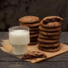 Chocolate chip cookies när de är som bäst!
