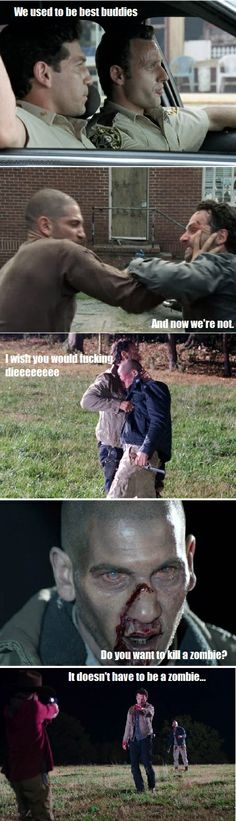 """""""Do you want to kill a zombie?"""" Walking Dead Frozen parody (to the tune of """"Do you want to build a snowman?"""") Part 2"""