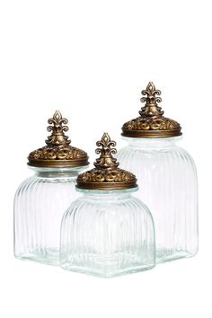 Glass Canisters//