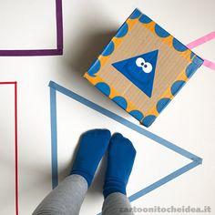 Imparare le forme geometriche è ancora più divertente e facile se ad aiutarci ci sono i Cartoonitos! Realizziamo un dado gigante e giochiamo!