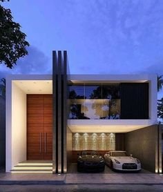 10 Modern homes, architecture For many live in a modern house is of great importance. Let's see a selection of interesting. modern home architecture, home architecture design House Front Design, Small House Design, Modern House Design, Duplex Design, Minimalist House Design, Facade Design, Exterior Design, Modern Architecture House, Architecture Design