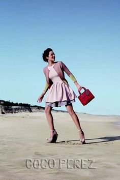 Dior taps Marion Cotillard for Lady Dior Hampton Campaign.