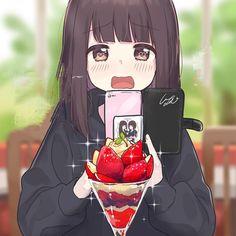 Manga Anime Girl, Cool Anime Girl, Me Anime, Cute Anime Chibi, Anime Couples Manga, Cute Anime Pics, Anime Neko, Kawaii Anime Girl, Anime Love