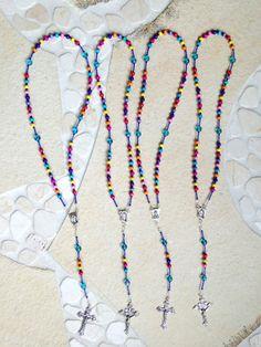 4 Colorful Children Rosaries