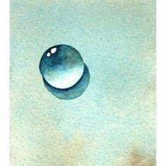 Watercolor Eyes, Watercolor Paintings, Watercolors, Pen And Wash, Daisy Painting, Watercolour Tutorials, Pastel Art, Water Drops, Diy Art