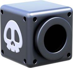 A Black Cannonbox from the official artwork set for #SuperMario3DWorld on #WiiU. #Mario #SuperMario http://www.superluigibros.com/super-mario-3d-world