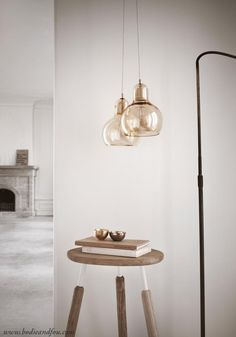Buy Mega Bulb Pendant light, Gold by & Tradition at Bodie and Fou & get off your first order — Bodie and Fou - Award-winning inspiring concept store Copper Pendant Lights, Pendant Lamp, Pendant Lighting, Gold Pendant, Light Pendant, Chandelier, Fritz Hansen, Metal Canopy, Cool Lighting