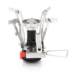 Buy Foldable Outdoor Stove Ultra-light Alloy Mini Gas Stove for Camping Hiking Gas Furnace Portable Outdoor Cooking Picnic Cooker Montenegro, Macedonia, Seychelles, Puerto Rico, Sri Lanka, Philippines, Mini Stove, Barbecue, Outdoor Stove
