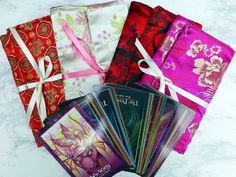 Satin Brocade Tarot/Oracle Card Bag- 4 Designs