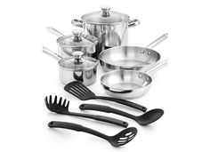 Tools of the Trade Stainless Steel 12-pc. Cookware Set, Only At Macy's -- Check out the image by visiting the link.