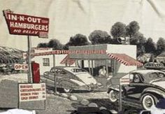 The second, considered by most, the first In and Out Burgers in Baldwin Park, California