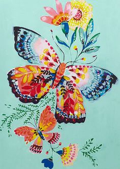 Butterfly Illustration, Butterfly Drawing, Butterfly Painting, Butterfly Wallpaper, Illustration Art, Insect Art, Arte Floral, Painting Inspiration, Painting & Drawing