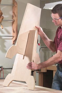 Double-Duty Shop Stool - Popular Woodworking Magazine
