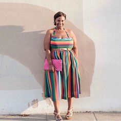 "396 Likes, 54 Comments - Dionna Humphrey, Blogger (@mademepretty) on Instagram: ""It's Pride Month! I love this @modcloth dress because it reminds me of love and happiness, and it…"""