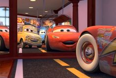Better than a Ferrari huh? Disney Cars Party, Disney Pixar Cars, Disney Movies, Car Party, Disney Nursery, Baby Disney, Lightening Mcqueen, Radiator Springs, Cute Patterns Wallpaper