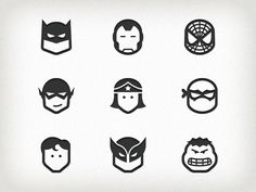 20 Inspiring Examples of Super Hero Icon - Smashfreakz