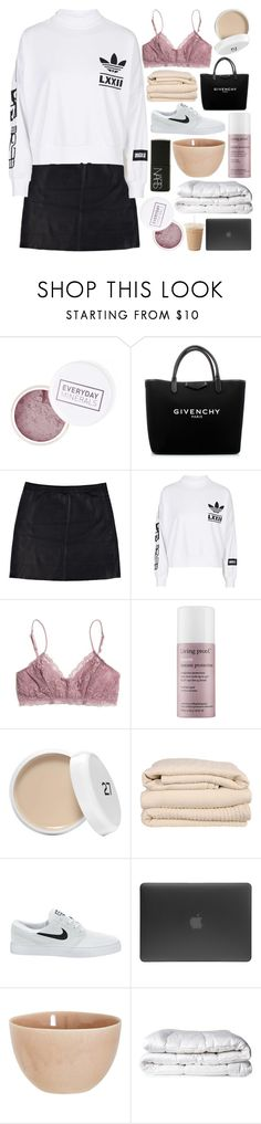 """LATE NIGHT WATCHING TELEVISION"" by orbiting-jupiter ❤ liked on Polyvore featuring Givenchy, Eska, adidas, Madewell, Living Proof, Brahms Mount, NIKE, Incase, atelier tete and NARS Cosmetics"