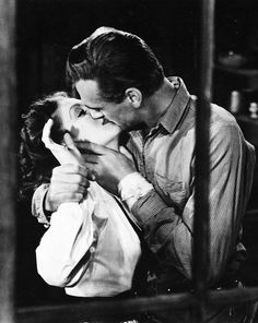 Gary Cooper and Loretta Young, Along Came Jones (1945).