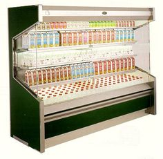 OD Series, Remote & Self-Contained, Open Dairy Merchandisers    Features @ http://www.marcrefrigeration.com/od.php