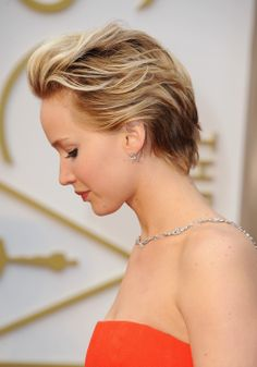 Jennifer Lawrence at the 86th Academy Awards; March 2, 2014.