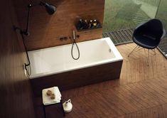 Prostokątna wanna Schedpol Milos w rozmiarze 170x70cm #schedpol #projektantwnetrz #architekci #wanna #bath #bathtime #bath #bathtube #inspiracjelazienkowe #modernbathroom #projektowaniewnetrzwarszawa #projektowaniewnetrzkrakow #budowadomu #bathroomdesign #interiors Interior S, Bathroom Interior Design, 3d Visualization, Teak, Bathtub, Standing Bath, Bathtubs, Bath Tube, Bath Tub