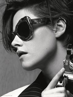 Kristen Stewart by Karl Lagerfeld for Chanel Eyewear • 2015