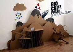 Cardboard furniture part II: how to waterproof it all